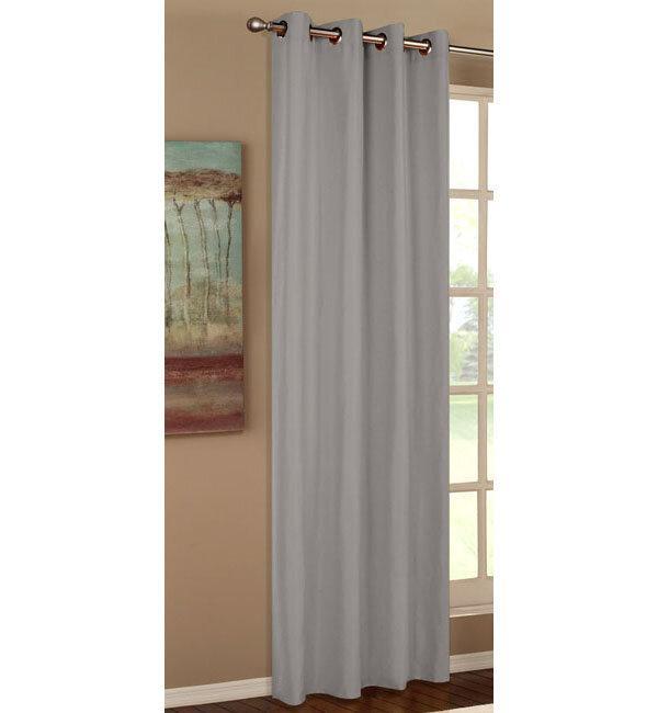 20405 vorhang blickdicht 1 st ck schal mit sen aus micro. Black Bedroom Furniture Sets. Home Design Ideas