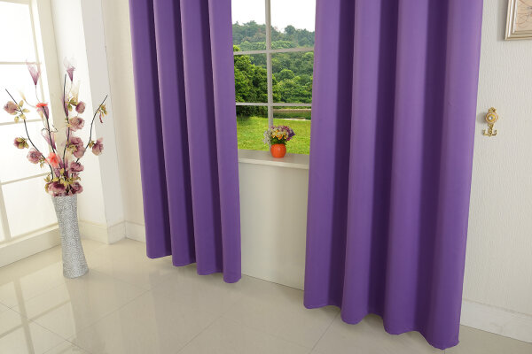 20600 lila 245x135 hxb verdunkelungsvorhang sen blickdicht. Black Bedroom Furniture Sets. Home Design Ideas