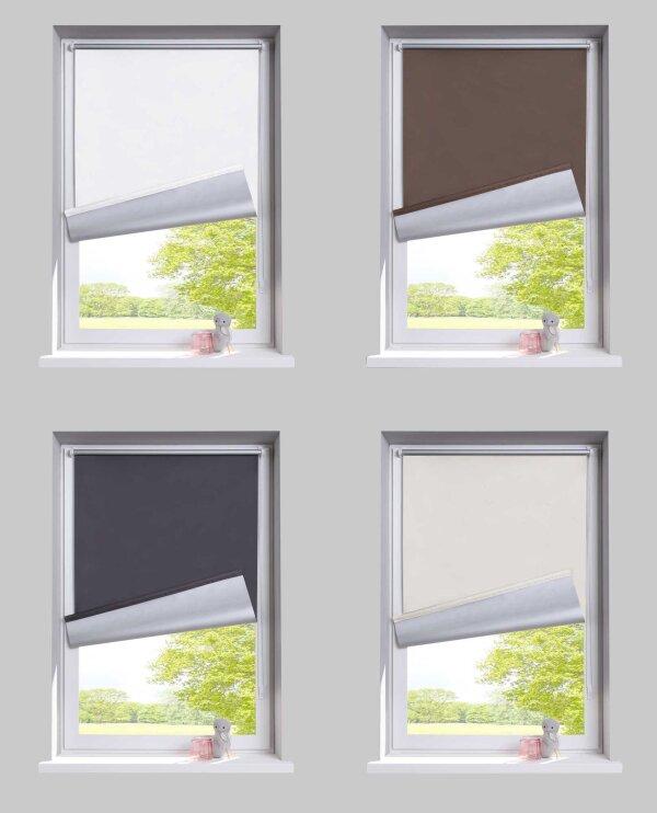 Relativ Rollo & Seitenzugrollos - Vorhang, Deko, Schiebegardinen, Flächenvorh RM49