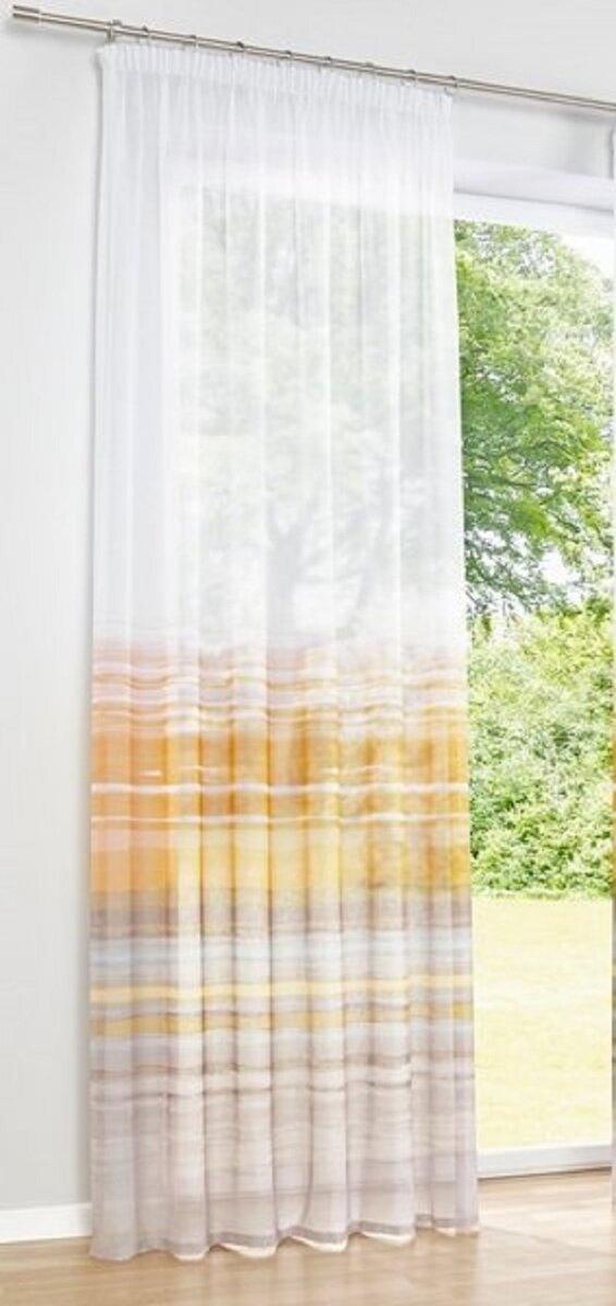 Dekostore, Farbe Taupe/gelb, Heine Home, 1 Stück, Mit Kräus