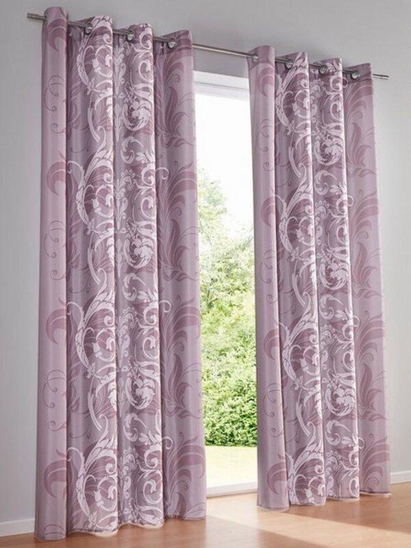 dekoschal farbe lila heine home 1 st ck mit sen 27463. Black Bedroom Furniture Sets. Home Design Ideas