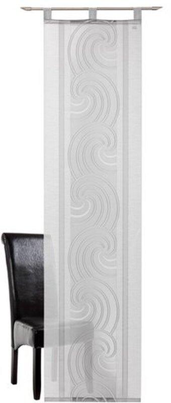 schiebegardine 1 st ck farbe grau deko trends 512468. Black Bedroom Furniture Sets. Home Design Ideas