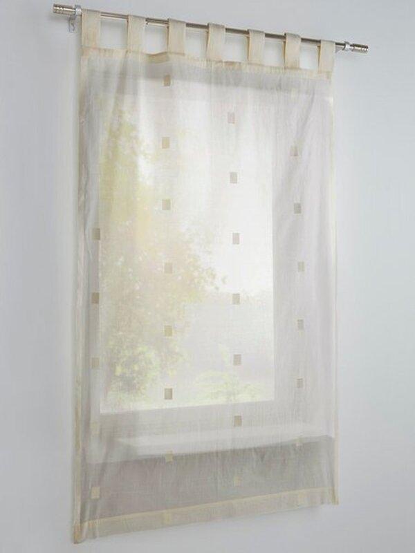Fensterdekoration 1 Stück Farbe Natur Heine Home Scheibenga