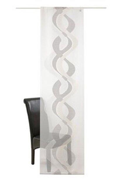 schiebegardine 1 st ck farbe grau deko trends 326383 mit. Black Bedroom Furniture Sets. Home Design Ideas