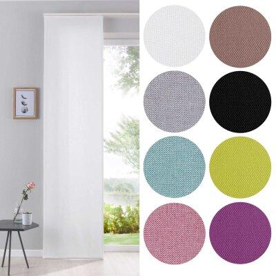 vorhang deko schiebegardinen fl chenvorhang thermogardinen blickdicht plissee raffrollos. Black Bedroom Furniture Sets. Home Design Ideas