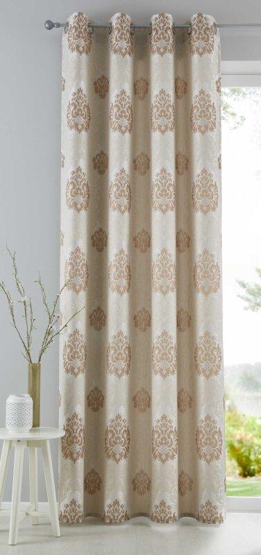 Vorhang gardine izmir senschal blickdicht barock - Vorhang barock ...