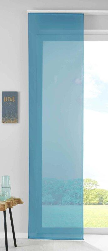 Schiebegardinen Flächenvorhänge Vorhang Gardine Schiebe HxB 245x60 cm Weiß