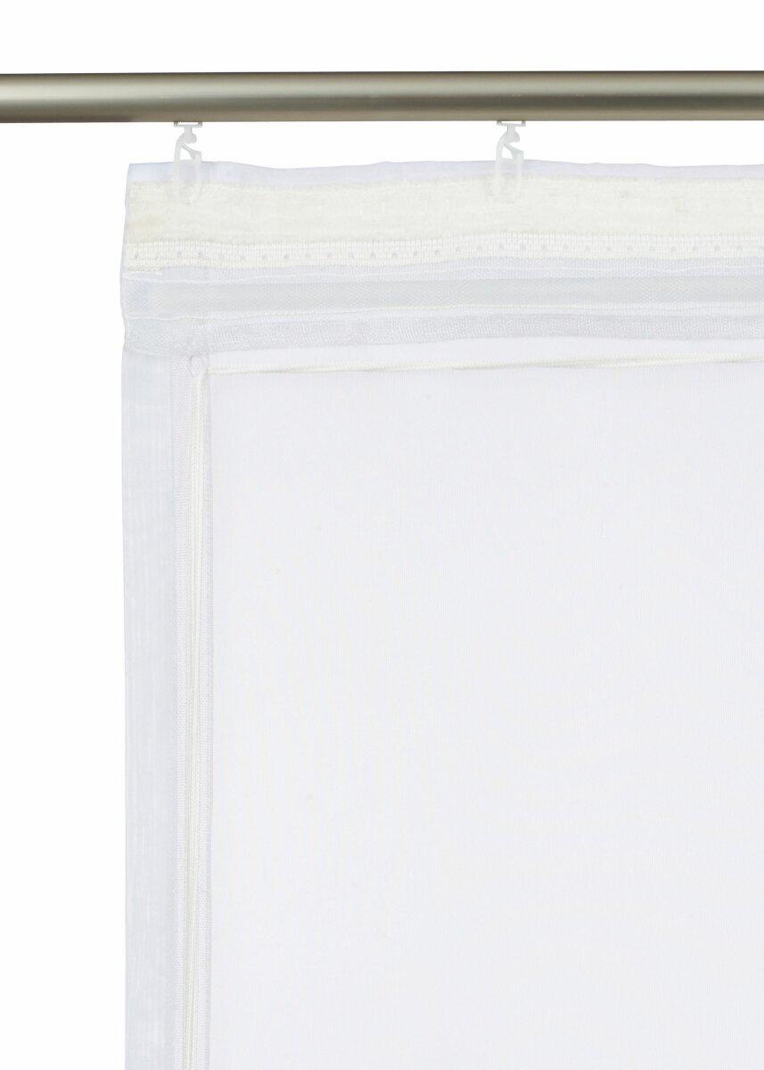 raffrollo mit schlaufen farbe flieder design vintage transparent. Black Bedroom Furniture Sets. Home Design Ideas