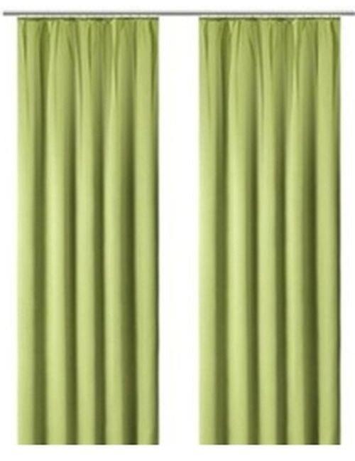 fertig deko gardine my home gr n gardinenband kr uselband b. Black Bedroom Furniture Sets. Home Design Ideas