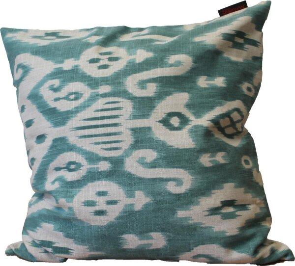 kissenh lle kissenbezug aqua muster blickdichter stoff rei. Black Bedroom Furniture Sets. Home Design Ideas