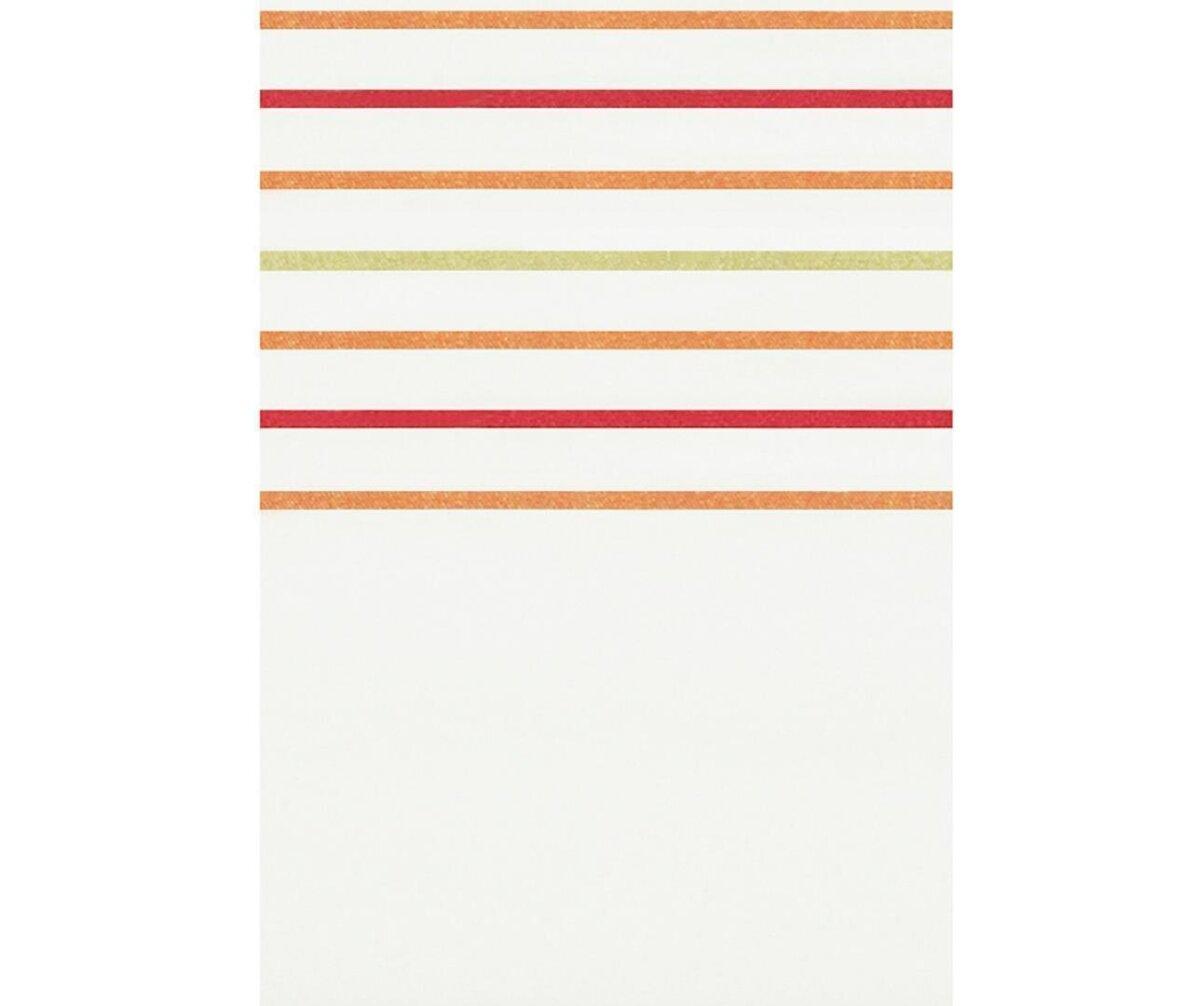 gardine mit kr uselband farbe k rbis rot design querstr. Black Bedroom Furniture Sets. Home Design Ideas