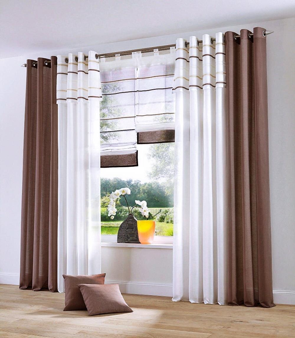 dekoschal mit sen farbe weiss blende braunt ne design. Black Bedroom Furniture Sets. Home Design Ideas