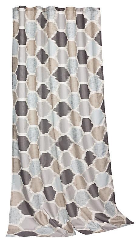 fertig deko erdfarben gardinenband kr uselband blickdichter stof. Black Bedroom Furniture Sets. Home Design Ideas