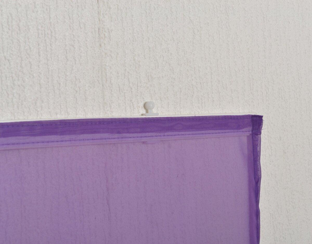 855892 schiebepanel 2er pack uni mit klettband incl ma e b. Black Bedroom Furniture Sets. Home Design Ideas